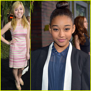 Jennette McCurdy &#038; Amandla Stenberg: 'Beautiful Creatures' Premiere