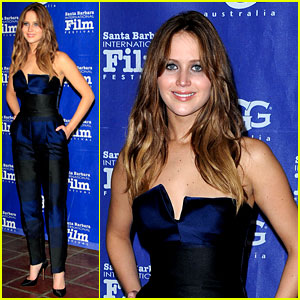 Jennifer Lawrence Honored At Santa Barbara Film Festival!