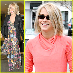 Julianne Hough: Coffee Run with Ryan Seacrest