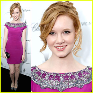 Madisen Beaty: Weinstein Company Pre-Oscar Party