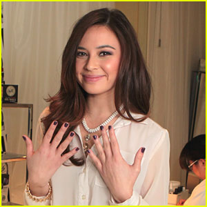 Malese Jow: Haute Polish Manicure from Moroccanoil Beaty Lounge