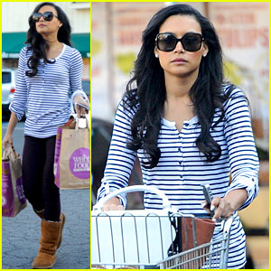 Naya Rivera: Grocery Shopping After 'Glee' Shocker!