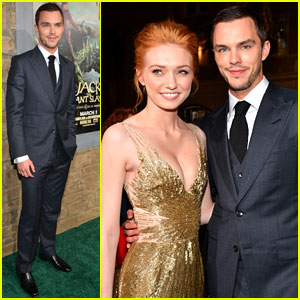 Nicholas Hoult &#038; Eleanor Tomlinson: 'Jack the Giant Slayer' Premiere