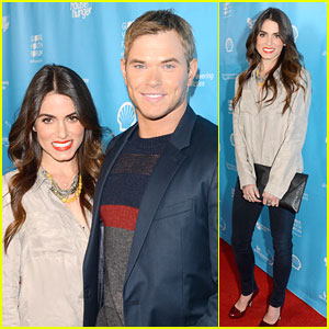 Nikki Reed: mPowering Action Event with Kellan Lutz