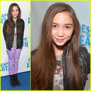 Rowan Blanchard Escapes From Planet Earth
