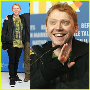 Rupert Grint: 'Necessary Death of Charlie Countryman' Photo Call &#038; Press Conference!