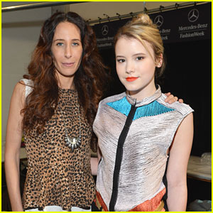 Taylor Spreitler: Mara Hoffman Fall Fashion Presentation