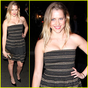 Teresa Palmer: Pre-Oscar Party Pretty