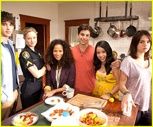 Jake T. Austin & Maia Mitchell: 'The Fosters' To Debut This Summer on ABC Family!