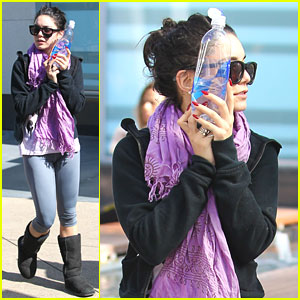 Vanessa Hudgens: Workout in West Hollywood