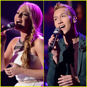 American Idol Top 9: Janelle Arthur &#038; Devin Velez Perform - Watch Now!
