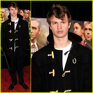 Ansel Elgort: 'Place Beyond the Pines' Premiere