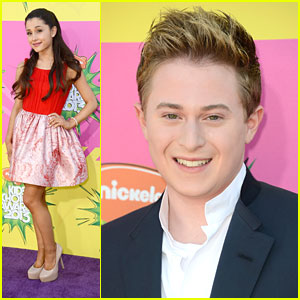 Ariana Grande: Kids' Choice Awards 2013 with Reed Alexander