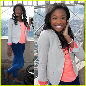 Coco Jones: Empire State Building JJJ Interview!