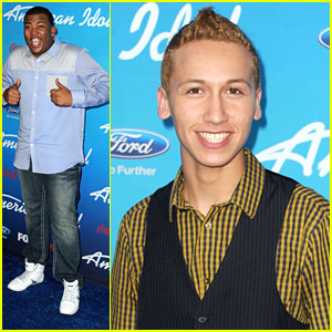 Curtis Finch, Jr. & Devin Velez: 'American Idol' Top 10 Finalists Party