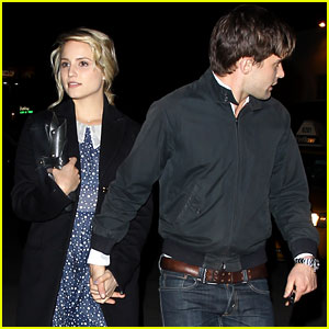 Dianna Agron & Christian Cooke: Semi Precious Weapons Concert!