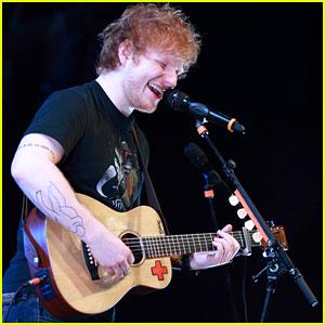 Ed Sheeran: Stuck on 'Homeland'!