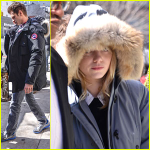 Emma Stone & Andrew Garfield: Big Apple Outing