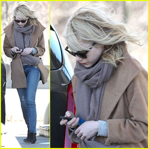 Emma Stone: Gas Station Stop