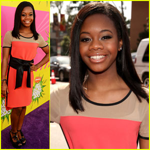 Gabby Douglas - Kids' Choice Awards 2013 Red Carpet