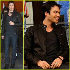 Ian Somerhalder: 'Kelly & Michael' Appearance!