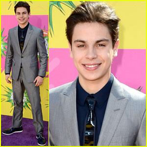 Jake T. Austin - Kids' Choice Awards 2013 Red Carpet
