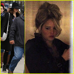 Jennifer Lawrence: Boston Beauty