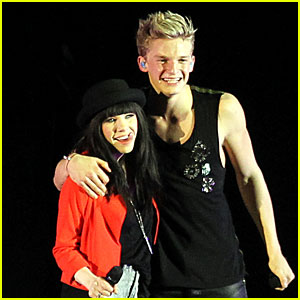 Carly Rae Jepsen &amp; Cody Simpson: 'Believe' Tour Buddies!