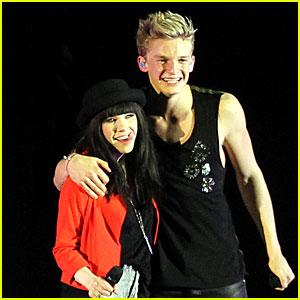 Carly Rae Jepsen & Cody Simpson: 'Believe' Tour Buddies!