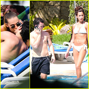 Kevin &#038; Danielle Jonas: Rio Pool with Joe and Blanda!