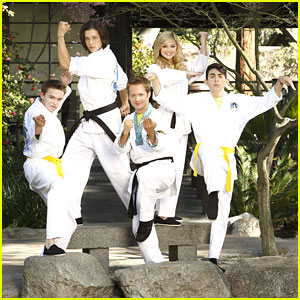 'Kickin' It' Cast Promo Pics!