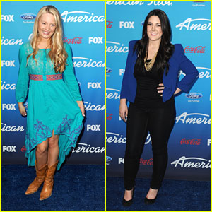 Janelle Arthur &#038; Kree Harrison: 'American Idol' Top 10 Finalists Party