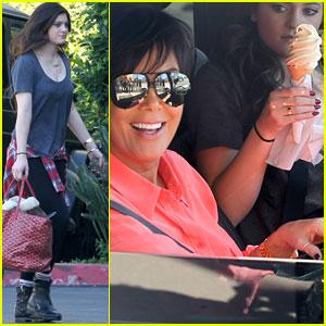 Kylie Jenner: Ice Cream Stop with Mom Kris!