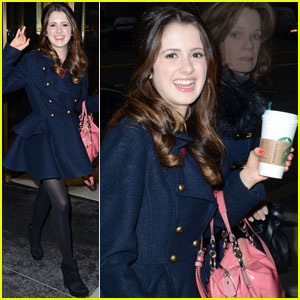 Laura Marano: PIX11 Morning News Stop!