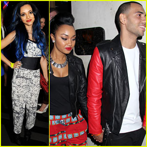 Leigh-Anne Pinnock & Jade Thirlwall: Rihanna's River Island Launch Party!