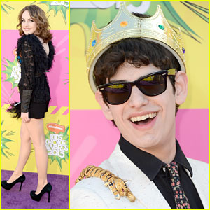 Matt Bennett: King of Slime at Kids' Choice Awards 2013!