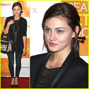 Phoebe Tonkin: 'Beauty Detox Foods' Book Launch