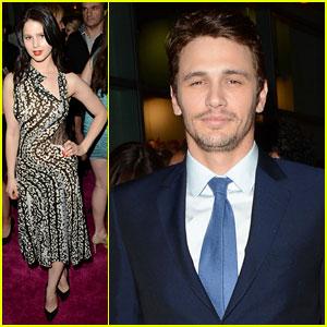 Rachel Korine & James Franco: 'Spring Breakers' Premiere