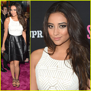 Shay Mitchell: 'Spring Breakers' Premiere Pretty