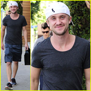 Tom Felton: WeHo Shopper!