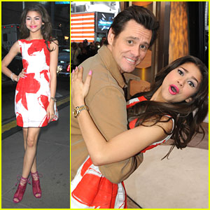 Zendaya: 'Dancing' Dip from Jim Carrey on GMA!