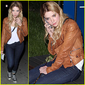 Ashley Benson: Boa Dinner Babe