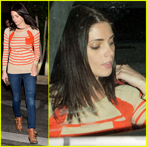 Ashley Greene: Matsuhisa Dinner Exit