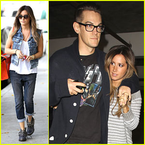 Ashley Tisdale & Christopher French: 'Evil Dead' Movie Date Night