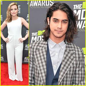 Avan Jogia & Maddie Hasson -- MTV Movie Awards 2013