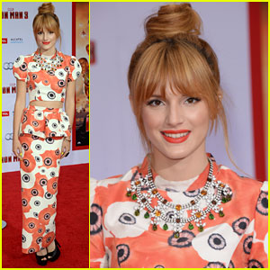 Bella Thorne: 'Iron Man 3' Premiere