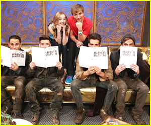 Big Time Rush on 'Marvin, Marvin' -- Exclusive Pics!