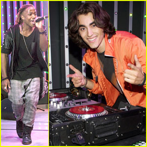 Blake Michael &#038; Leon Thomas: Universal City Walk Performers!