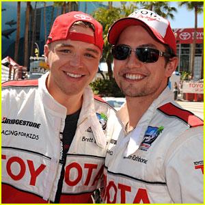 Brett Davern & Jackson Rathbone: Toyota Pro Celebrity Racers!