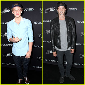 Cody Simpson & Chris Galya: 'Isolated' Premiere